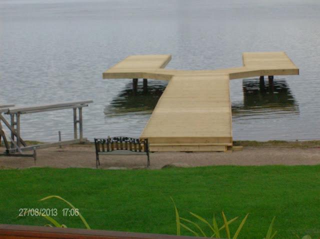 100' Split dock